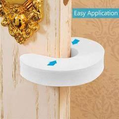 White color plain U/C shape EVA foam Baby door stopper