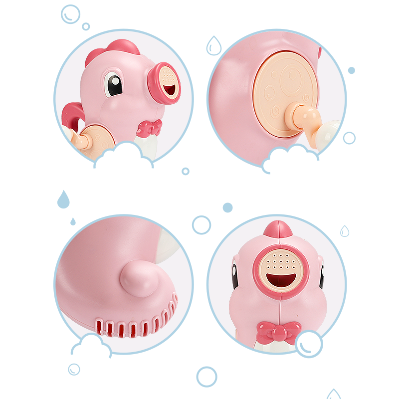 Animal model water gun toy bath sprinkler toy   squirters set bath tub kids bath water game toy