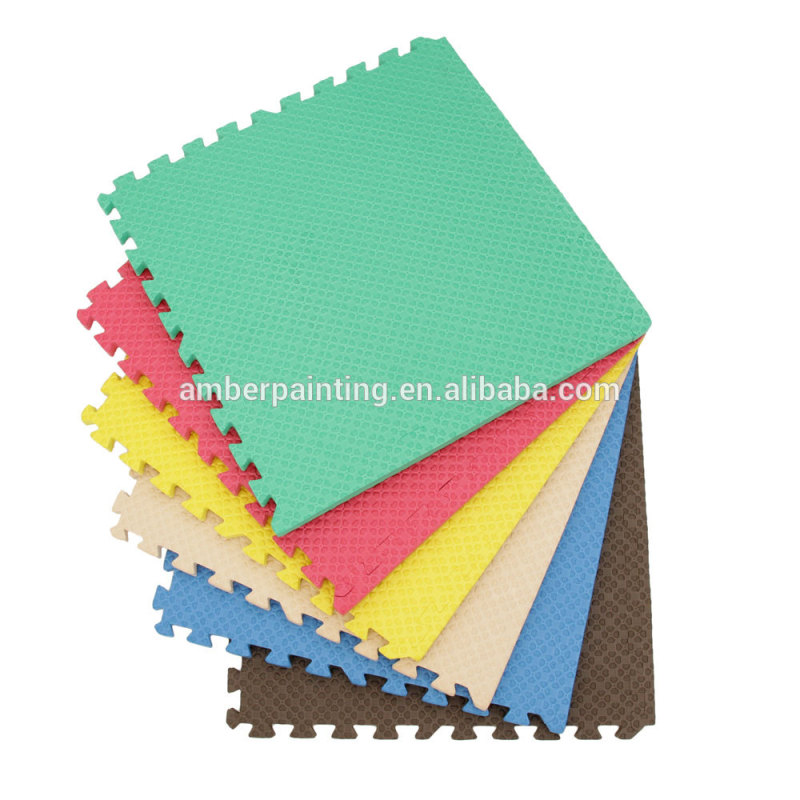 children foam tatami puzzle 4cm plain table tennis mat baby antislip gym mats