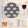 Wholesale ODM OEM Custom LOGO tea Office Coffee Kitchen eva Dining Kids Table Cup Mat