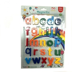 Magnetic Plastic Letters And Puzzle Game Shapes