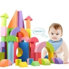 Non toxic eco friendly kids play toy eva foam building block