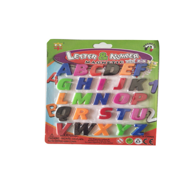 promotional wholesale Custom Alphabet Fridge Magnet Educational Learn Foam Words School letter