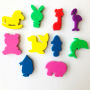 personalized EVA foam refrigerator magnet 3D for kids