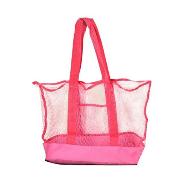 new design hot fashion beach mesh bag