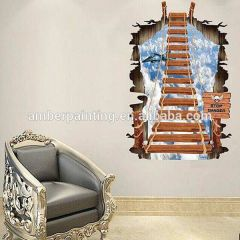 Top sale self adhesive PVC wallpaper 3d sticker for room decal