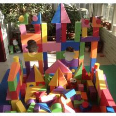 EVA Foam Colorful Building Blocks Kids Brick Toys