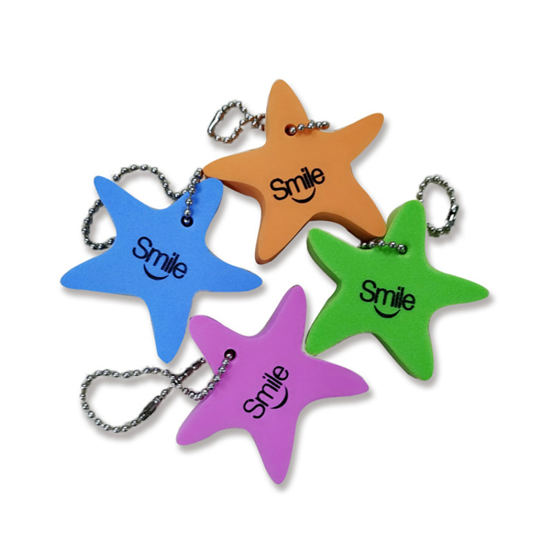 floating EVA foam custom promotion key chain cheap promotional gift