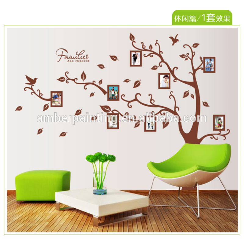 Family color wall sticker art decor wall stickers