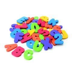 Alphabet letter tub town foam bath toy set and ship