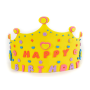 EVA foam hat custom crown design foam party hat for birthday