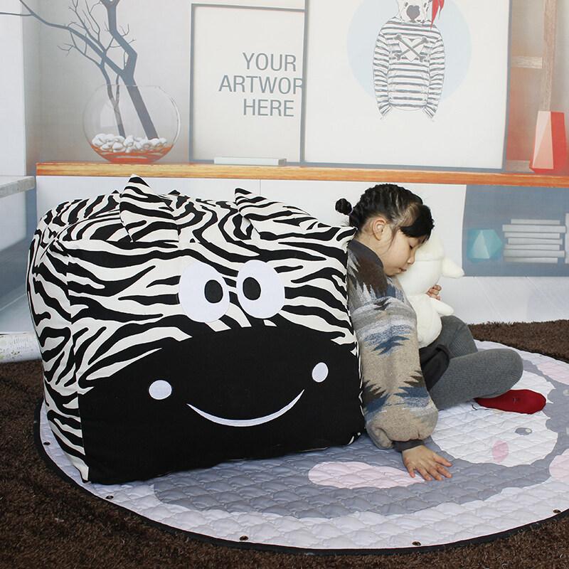 2020 New Fashion Bean Bag Storage Stuffed Animal Toy Storage Bag