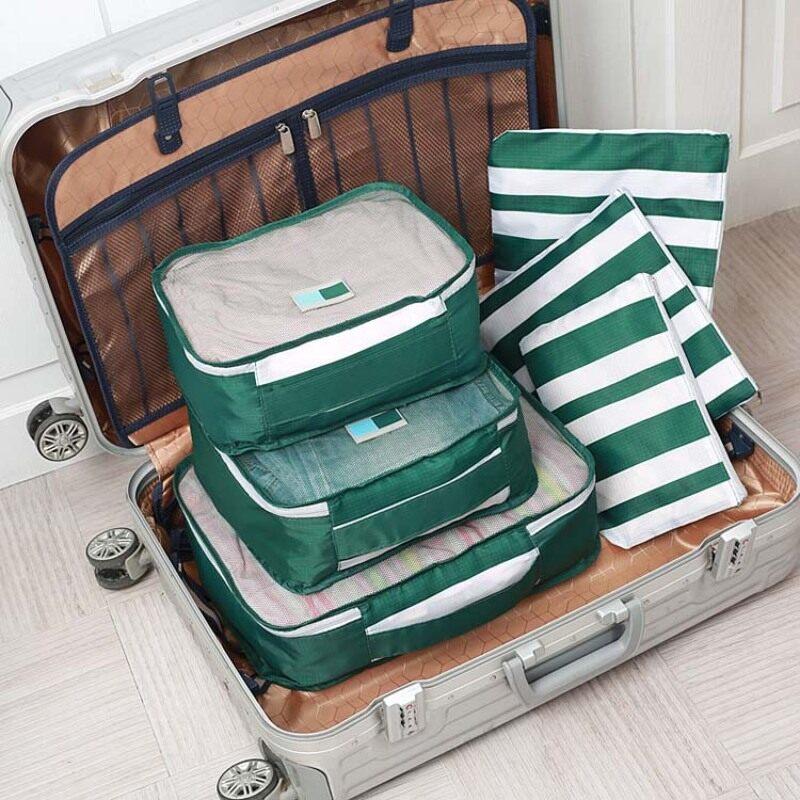 travel organizer pouch bag set