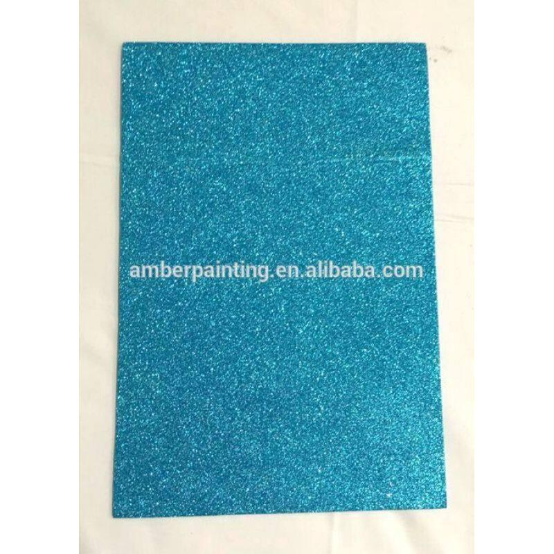 Custom size eco friendly glitter eva foam sheet for kids