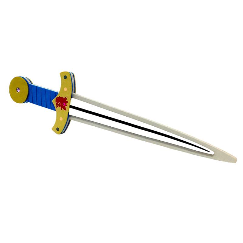 multicolor kids cheap eva foam toys sword