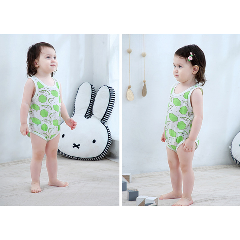 Wholesale new born unisex baby clothes rompers summer romper