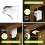 Wholesale high quality baby proofing magnetic cabinet locks magnetic child lock baby safety cabinet drawer door lock