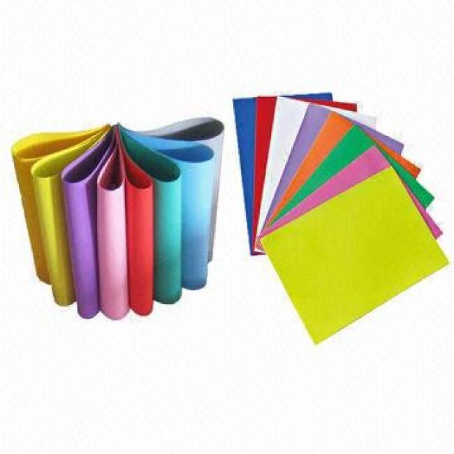 High quality custom size colored plain eva foam craft sheet