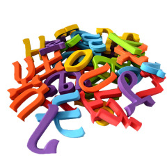 Wholesale children's magnetic alphabet toy painting whiteboard arabic letters kids magnetic drawing   arabic alphabet magnet