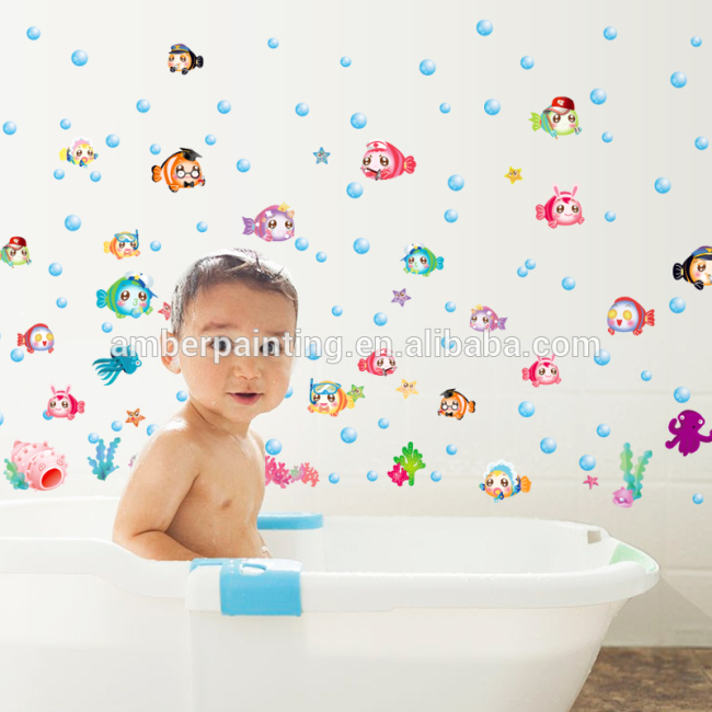 baby boys education sea life wall decals for bathroom