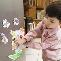 Custom magnetic animals blocks printed fridge magnet
