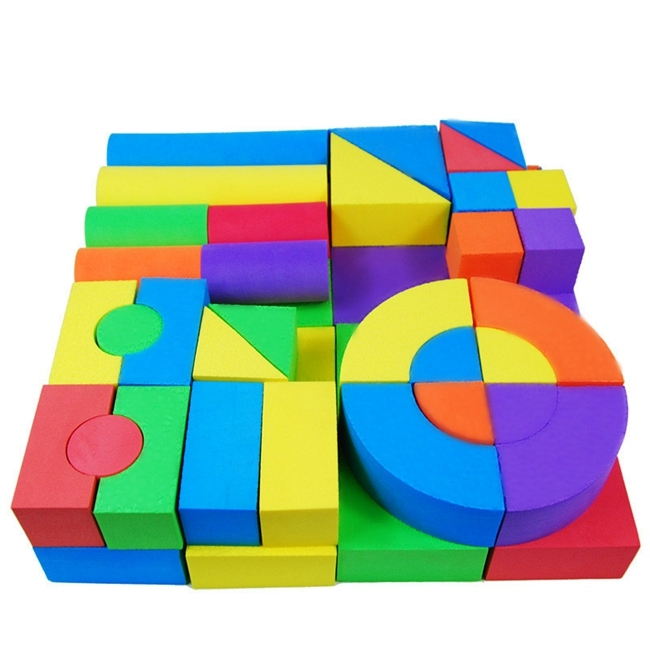 Non toxic eco friendly kids play toy eva foam building block