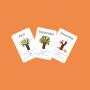 Custom printed paper children puzzle flash cards