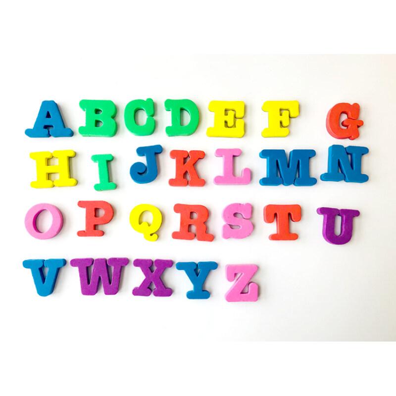 EVA fridge magnet educational alphabet letters generator for kids