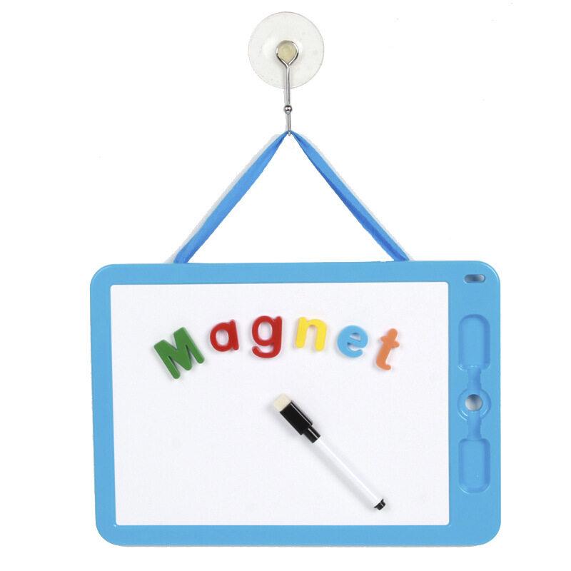 Educational small fridge writable magnet toy plastic whiteboard customize A313