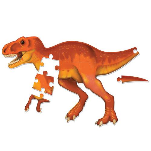Fashion diy educational toy kids 3d foam dinosaur puzzle