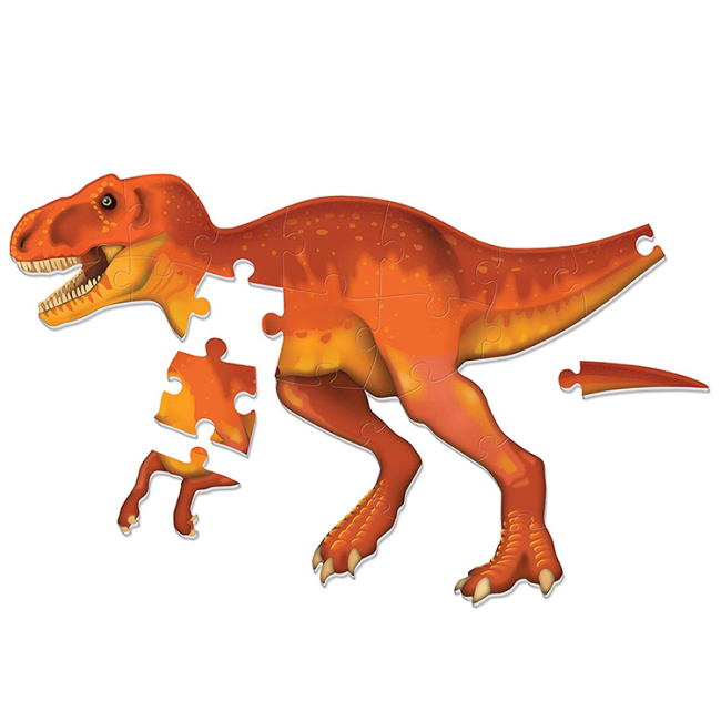Fashion diy educational toy kids 3d foam dinosaur puzzle