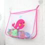 Factory price Mesh Bath Toy Organizer hanging mesh storage closet organizer A313