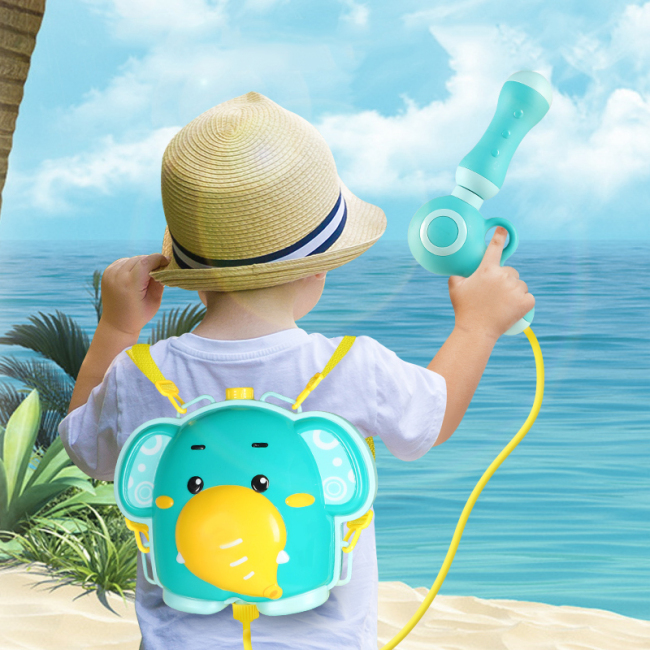 Baby backpack water play bath toy gun bath sprinkler toy   bath toys baby shower water spray