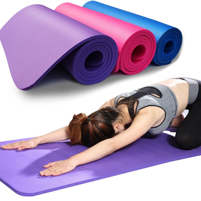 Wholesale oem yoga mat  yoga block white
