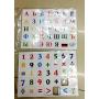 Amazing Magnetic EVA Children Education alphabet learning toys