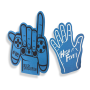 EVA foam cheering hand and finger for sports competition light foam finger