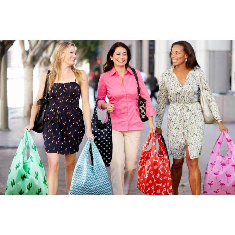 Eco-friendly Nylon,waterproof and foldable reusable shopping bag