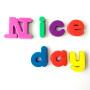 Customized sperSeptember child EVA fridge foam magnet letters and number
