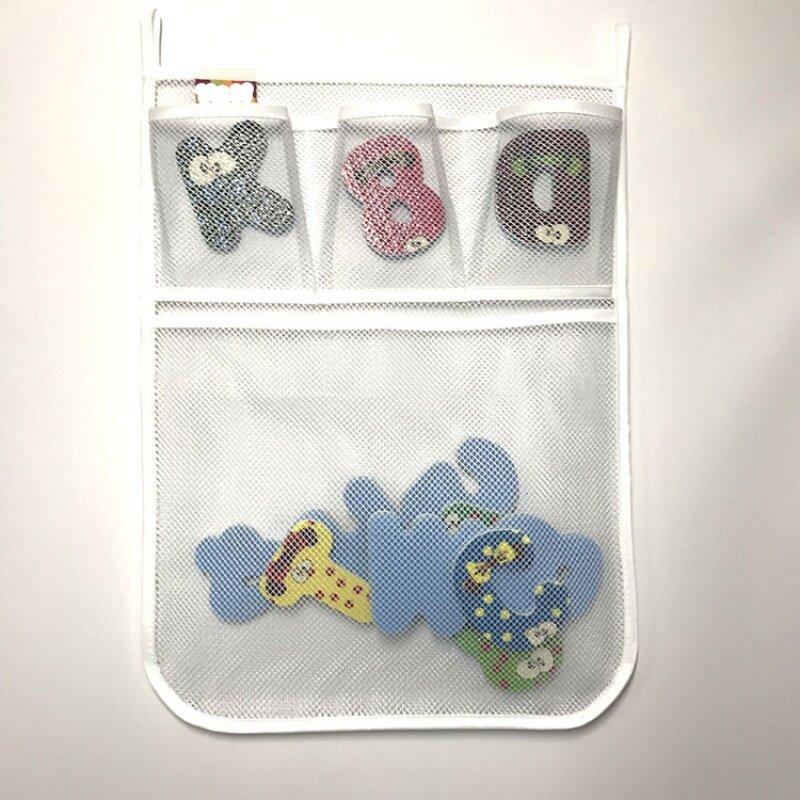 Storage bath mesh bag for kids and family   bath kid toys storage mesh