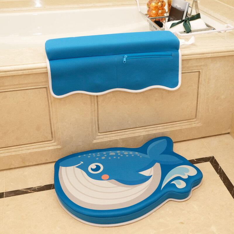 bath kneeler and elbow rest pad set memory foam mat