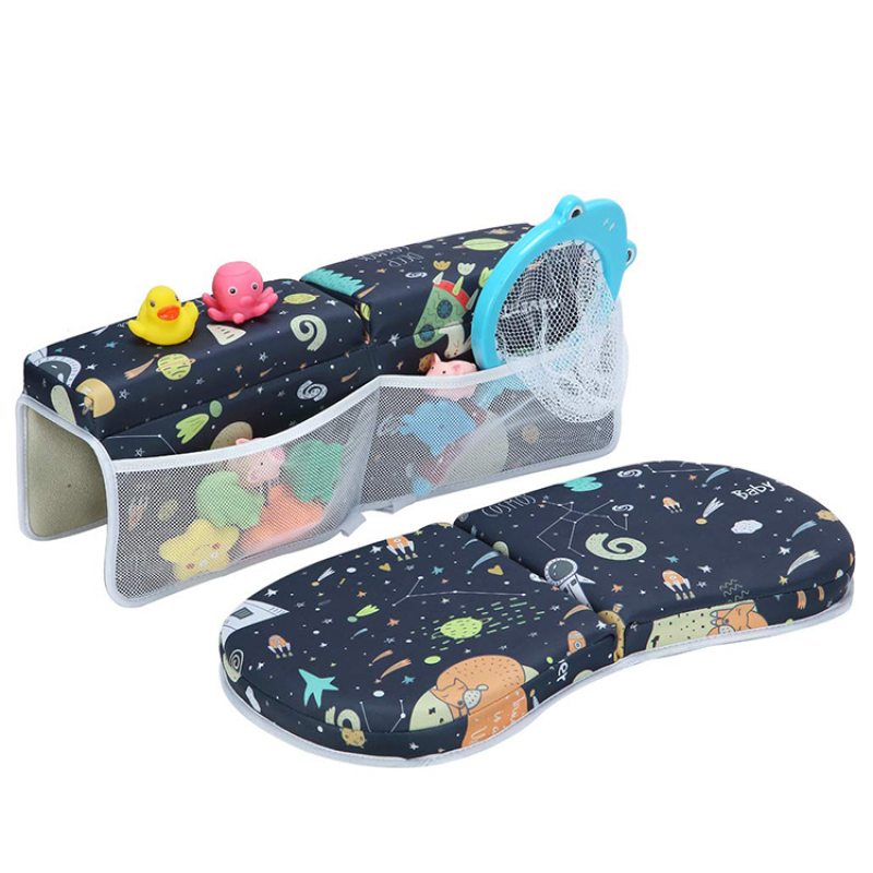 Full pattern printing neoprene bath kneeler and elbow rest pad Bath Elbow Saver