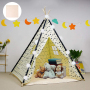 Hot sale teepee frame kids play tent for kids indoor and outdoor Heavy Cotton Canvas material