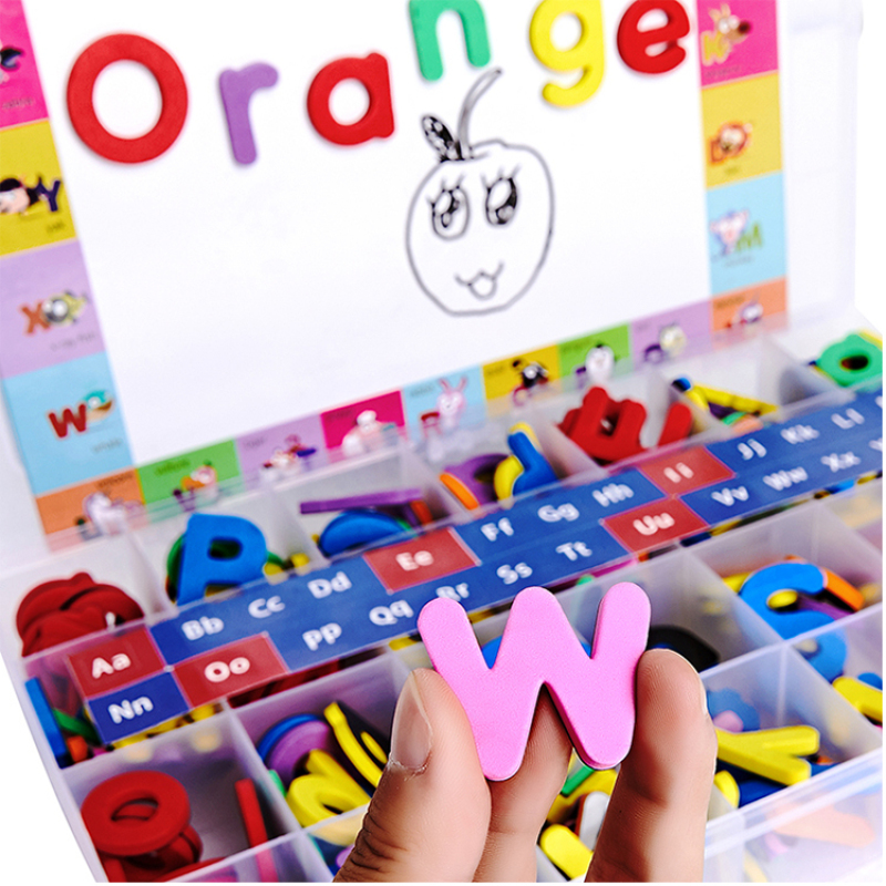 Hot selling classroom magnetic letters&numbers with board