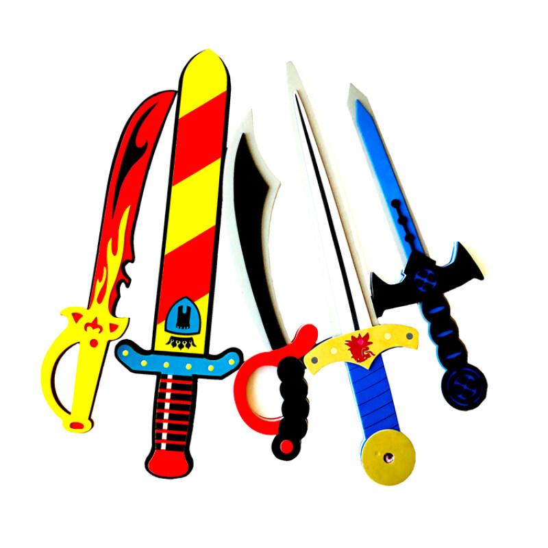 Knight diamond eva foam shield and sword toy for children