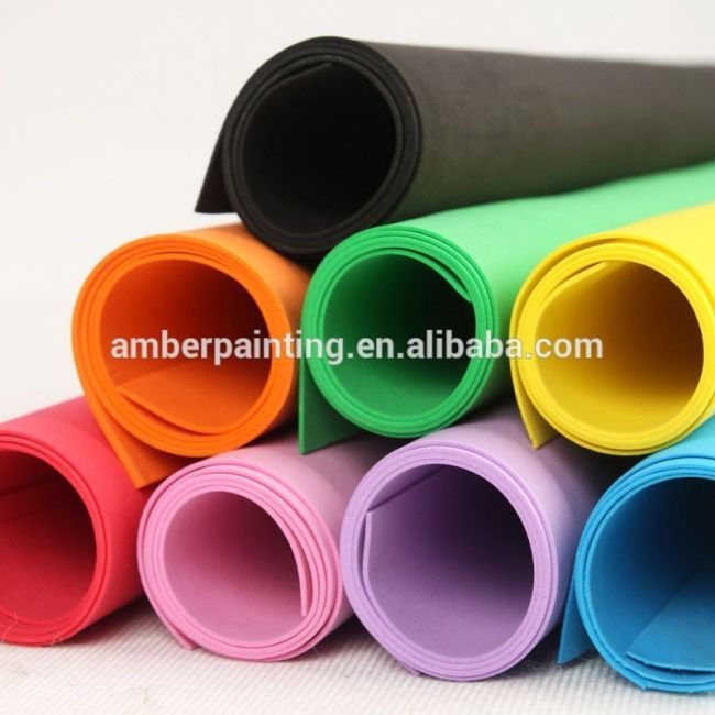 High quality multicolor eva foam sheet and roll