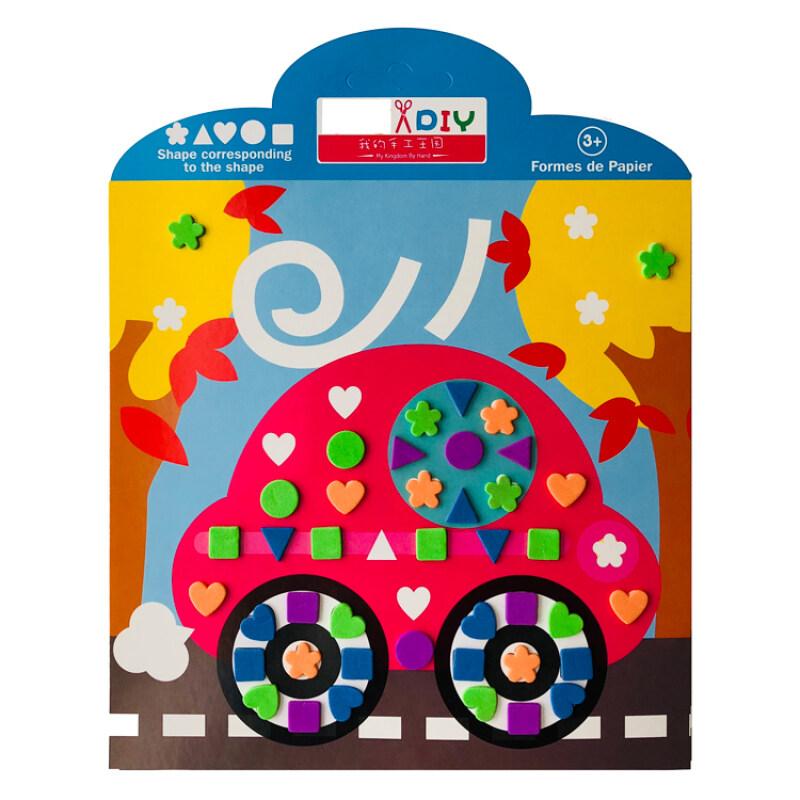 diy kit handmade arts and crafts mosaic sticker for kids