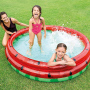 Foldable Inflatable water Round Inflatable Outdoor Kids splash play mat Swimming and Wading Watermelon Pool water toys