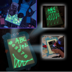 Wholesale light drawing board a4/ a3 glow kids drawing board