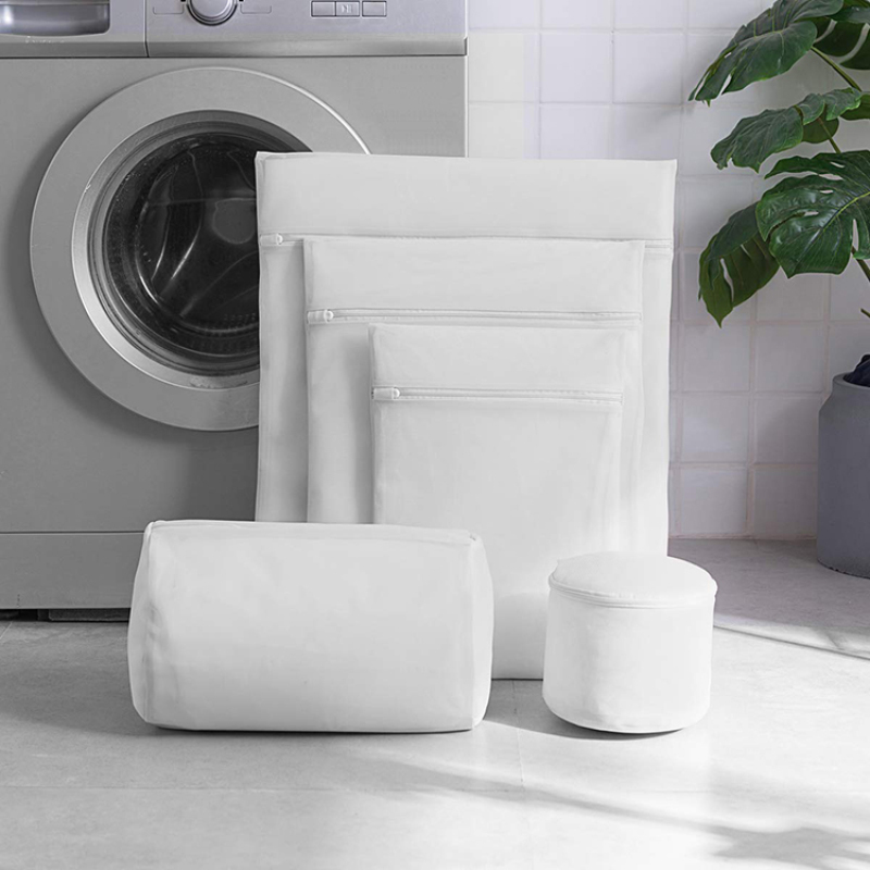 Wholesale reusable laundry travel storage mesh bag