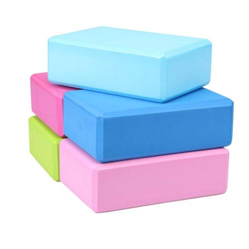Fitness High Quality Custom Durable Eva Foam Yoga Block Brick